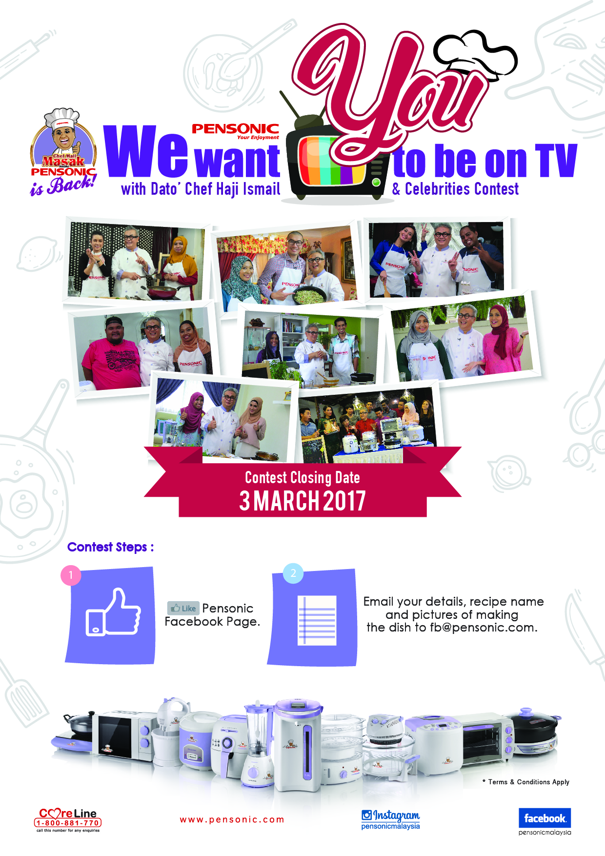 Chef We Want You To Be On TV English BLOGGER 01