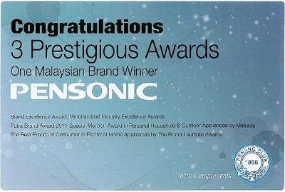 Congratulations, 3 Prestigious Awards on One Malaysian Brand Winner