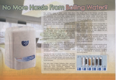 No More Hassle from Boiling Water?