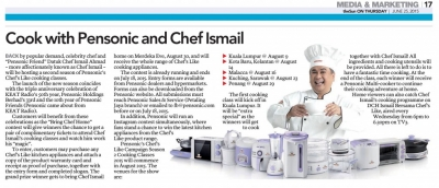 Cook with Pensonic and Chef Ismail