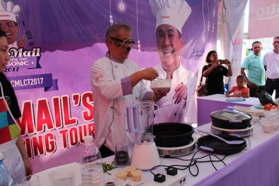 Chef Mail Live Cooking Tour 2017 | Ban Huat Group, Butterworth, Penang