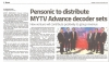 Pensonic to distribute MYTV Advance decoder sets