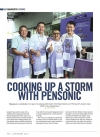 Cooking up a storm with Pensonic