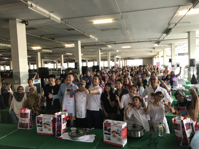 Chef Mail Live Cooking Tour 2017 | Giant, Kota Damansara
